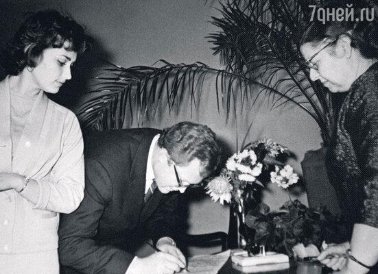 Свадьба с Леонидом Сатановским. 1961 г.