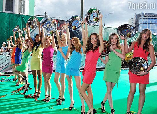 Участницы проекта «Топ-модель по-русски»