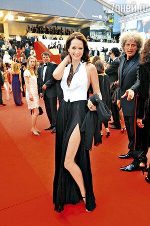 Ольга Кабо  на Каннском кинофестивале.  2011 год