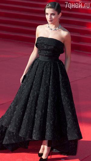Анна Чиповская на открытии 35-го Московского международного кинофестиваля