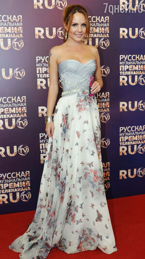 МакSим  на  церемонии вручения премий телеканала RU.TV