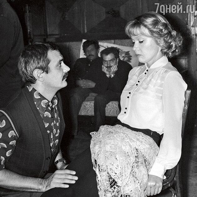 Никита Михалков и Людмила Гурченко