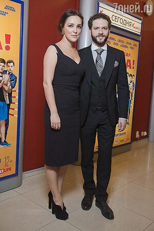 Константин Крюков с супругой Алиной