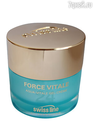 Гель-крем для лица Force Vitale Aqua-Vitale Gel-Cream от Swiss Line