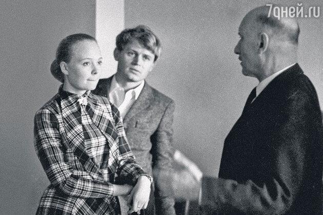 Наталия Белохвостикова, Сергей Никоненко и Сергей Герасимов