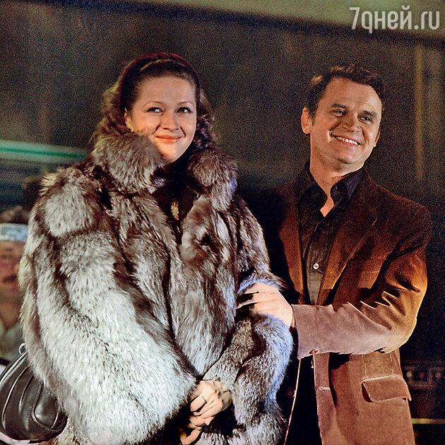 Наталья Гундарева и Сергей Никоненко