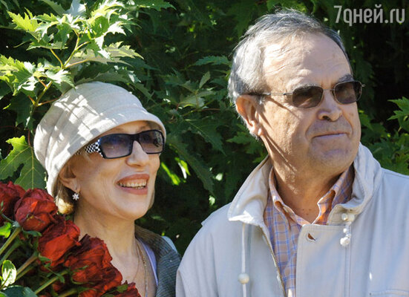 Глеб Панфилов и Ирина Чурикова