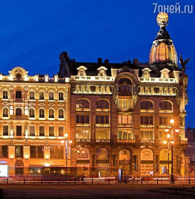 Дом Зингера на углу Невского и канала Грибоедова стал первым в России бизнес-центром