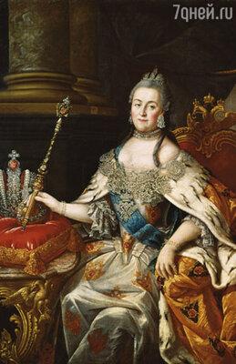 ����������� �������� ��������� II ���� ���������� ������� ��������� ���������� ������� � ��������. ����������� ������� �������� ��������� II� ������ �.�. ���������,  1766 �. �������� ��������� ��������� �������