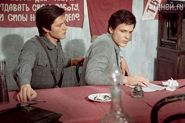 Евгений Жариков и Николай Еременко-младший в фильме Светланы Дружининой «Исполнение желаний». 1973 г.