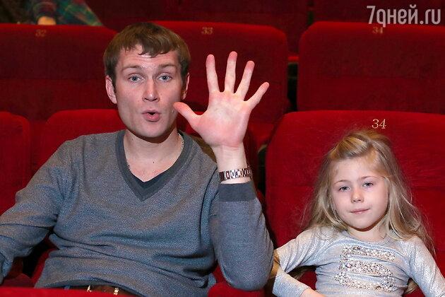 Николай Наумов с дочерью Аминой