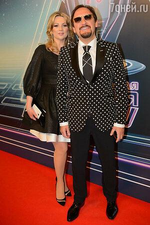 Стас Михайлов с женой Инной