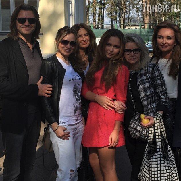 Стефания, Дмитрий, Елена, Инна Маликовы