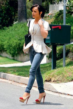 Знаменитые туфли с губами. Кристина Риччи
