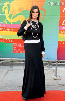 На открытии Московского кинофестиваля. 2007 г.
