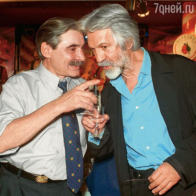 Борис Хмельницкий с Александром Панкратовым-Черным