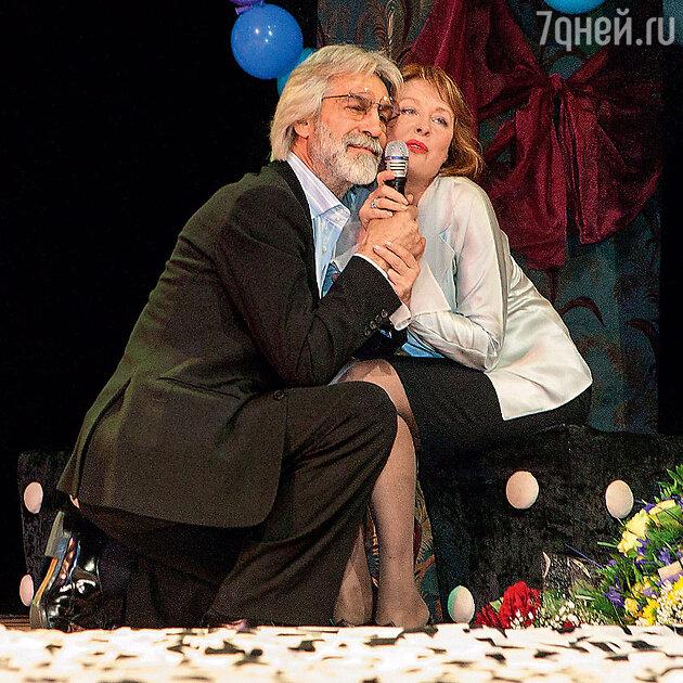 Борис Хмельницкий с Ларисой Удовиченко