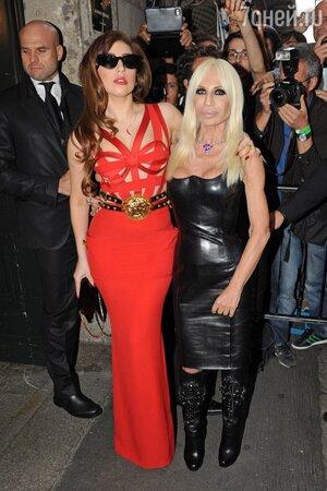 ���� ���� (Lady Gaga) � ��������� ������� (Donatella Versace)