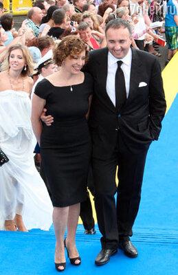 Александр Роднянский с женой Валерией Мирошниченко