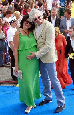 Аркадий Укупник с женой Наташей