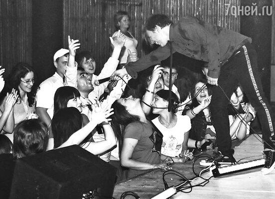 Выступления во Владикавказе и Грозном стали первыми концертами группы «Мумий Тролль» на Кавказе