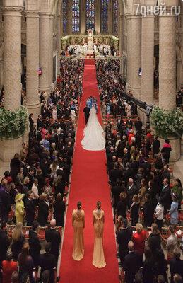 На свадьбу наследного Великого Герцога Гийома приехали монархи всего мира