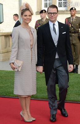 Кронпринцесса Швеции Виктория с супругом принцем Даниэлем