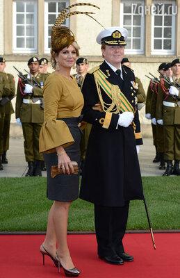 Кронпринц Нидерландов Виллем-Александр с супругой кронприцессой Максимой