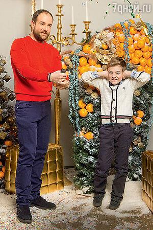 Александром Нестеровым с сыном Ильей