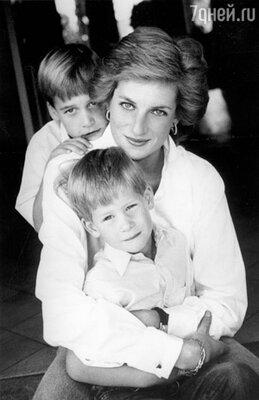 Принцесса Диана яростно боролась за то, чтобы у ее сыновей было нормальное детство