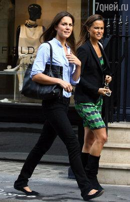 Кейт с сестрой Пиппой