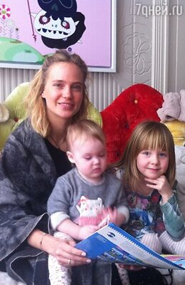 Глюкоза с дочками Верой и Лидией