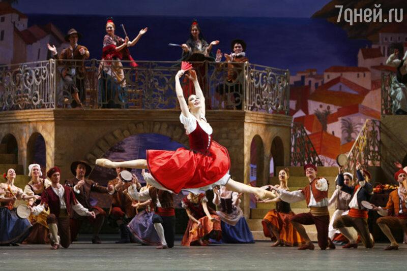 Мария Александрова в спектакле'Дон Кихот