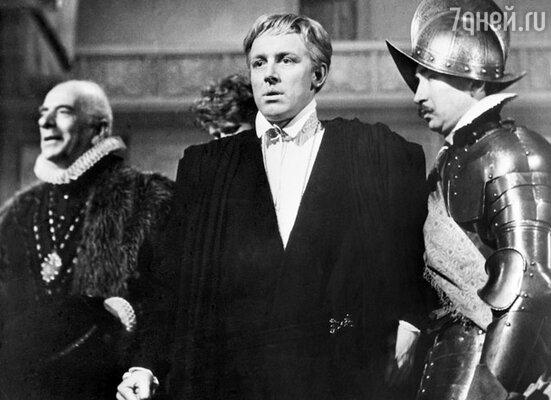 Иннокентий Смоктуновский в роли Гамлета, 1964 год