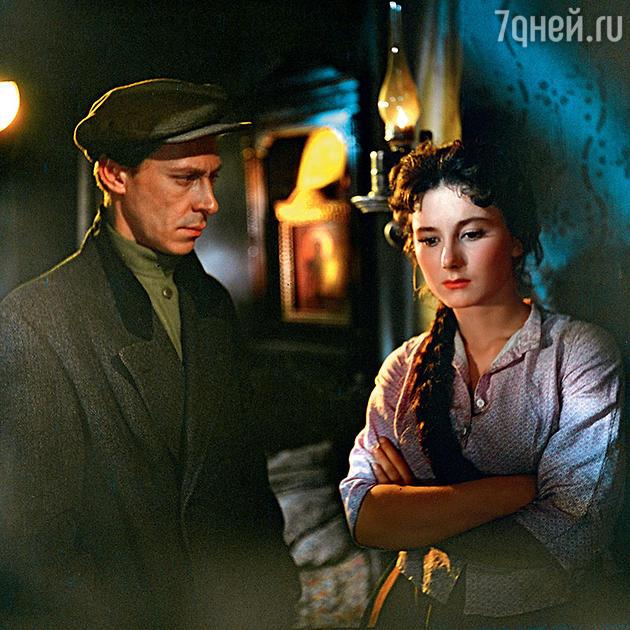 Олег Ефремов и Татьяна Лаврова