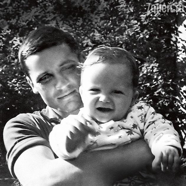Владимир Михайлов с сыном