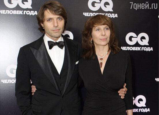 Николай Усков с супругой