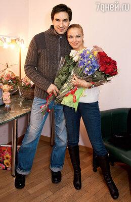 Татьяна Арнтгольц напраздновании своегодня рождения сГригорием Антипенко