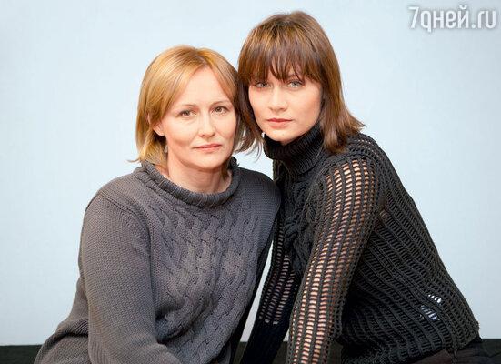 Первая жена актера Елена Шевченко и его единственная дочь Мария Машкова
