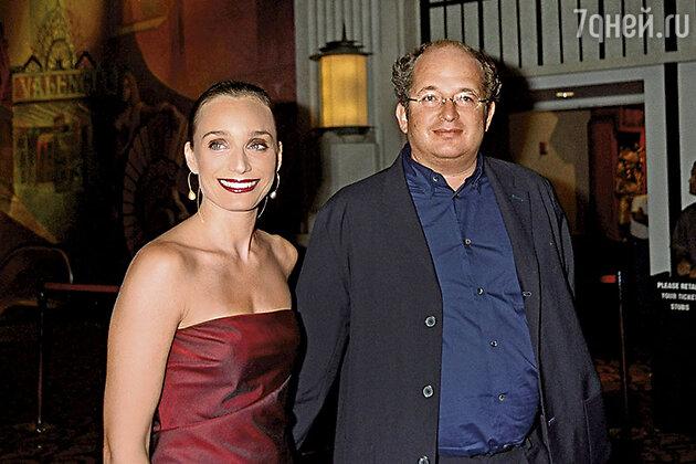 Кристин Скотт Томас с мужем