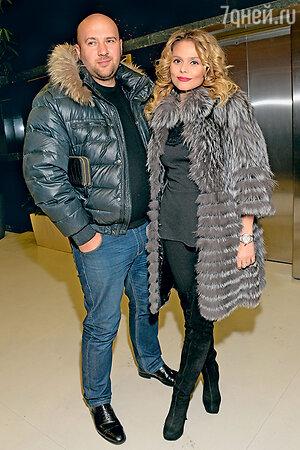 Ксения Новикова с мужем Алексеем