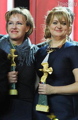 Ирина Розанова и Анна Михалкова
