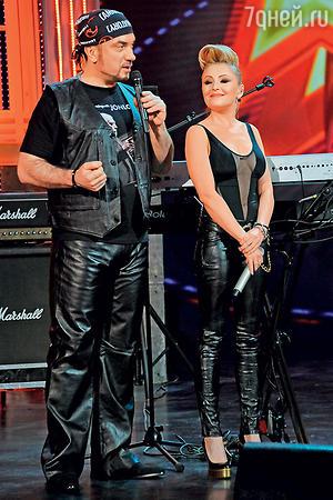 Сергей Жилин с Анжеликой Варум