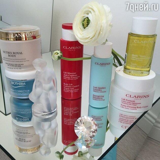 Любимые косметические продукты Яны Рудковской