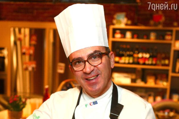 Шеф-повар Лоренцо Гуардино