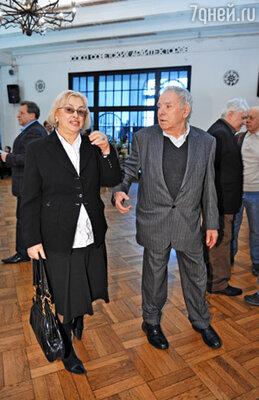 Режиссер Петр Тодоровский с супругой Мирой