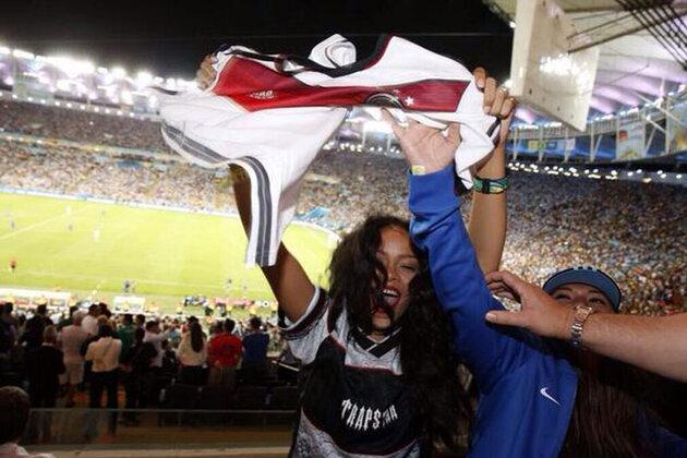Рианна на Чемпионате мира по футболу