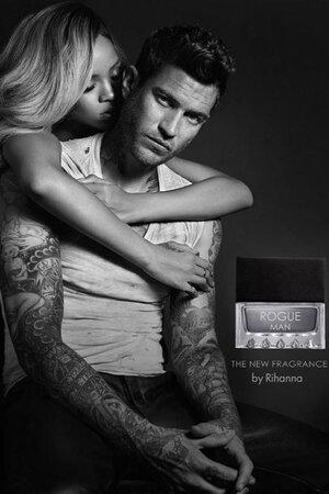 Рианна в рекламной кампании парфюма Rogue Man