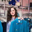 Мария Шумакова выбрала себе пальто