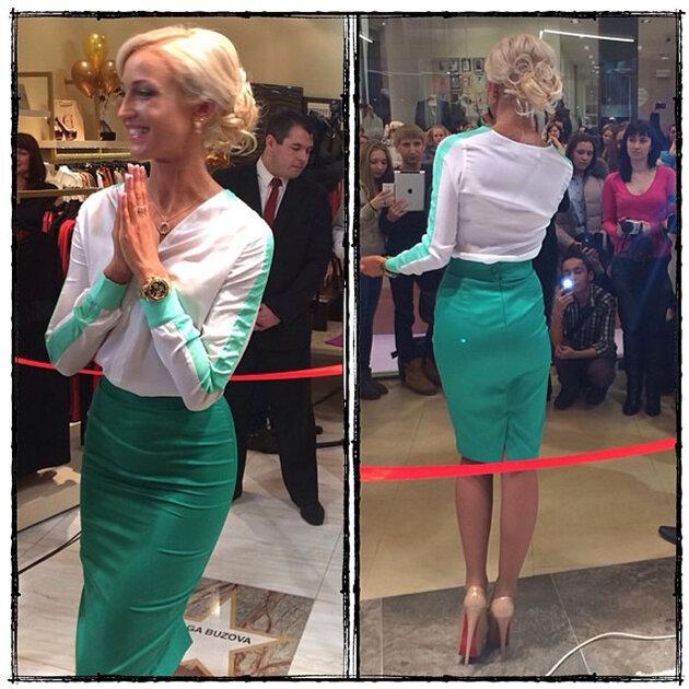Ольга Бузова в Ярославле, на открытии фирменного магазина С&С